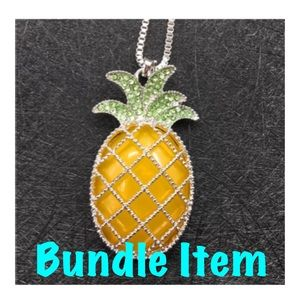 NWOT BJ Pineapple Necklace